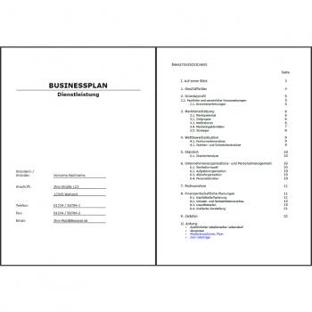BusyPlans.de - Businessplan Immobilienmakler