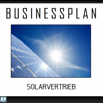 Businessplan Solarvertrieb